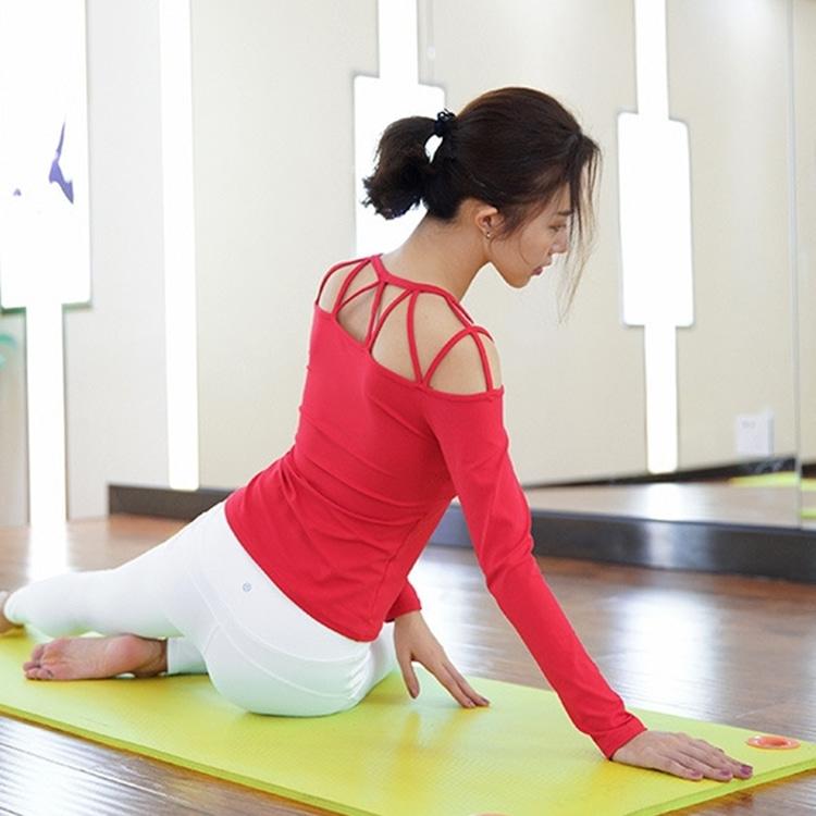 어깨 라인 운동복